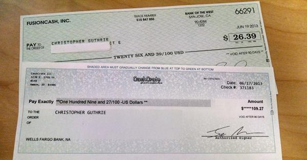 Earn cash through surveys