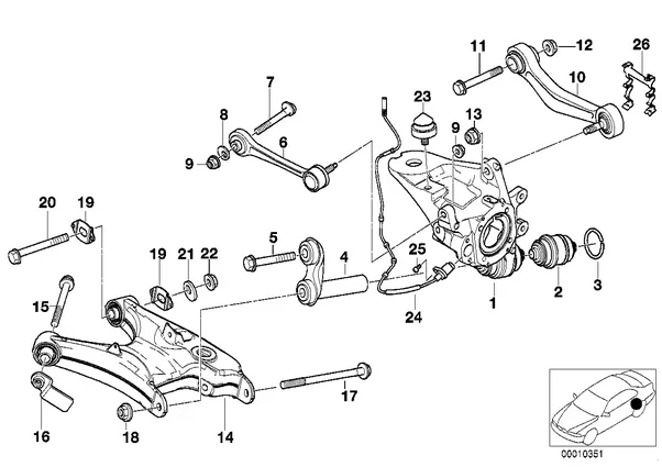 How Is An H Arm Suspension Designed For The Rear Quora