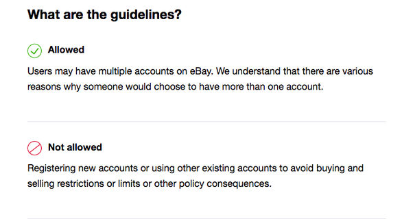 Can I Have More Than One Account With Ebay Quora