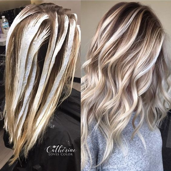 Getting Highlights In Hair Color