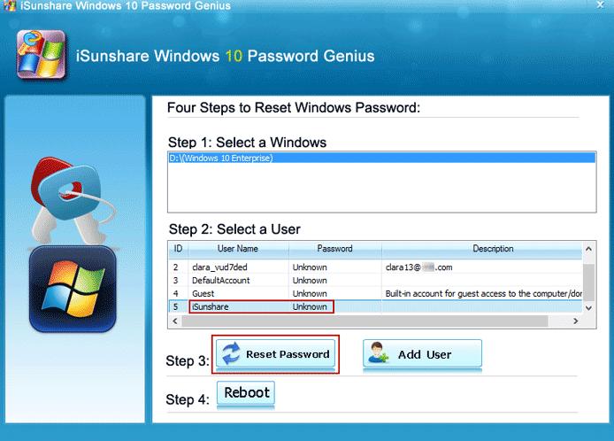 forgot administrator password windows 10 command prompt