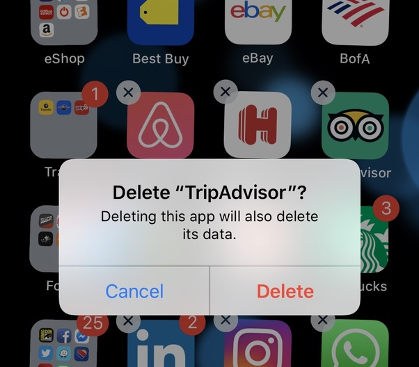 How to determine which app I accidentally deleted on my iPhone - Quora