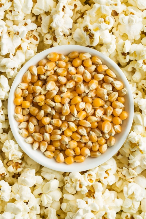 Pop-Corn is a whole grain snack - Smart Tips to Eat Healthy on a Budget