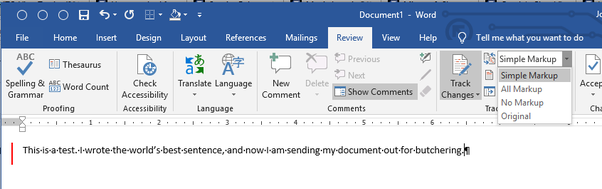 Why is my typing in Word suddenly red and underlined? - Quora