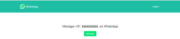 How to send WhatsApp messages from a website - Quora