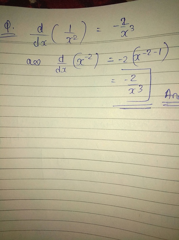 What Is The Differentiation Of 1x2 Quora