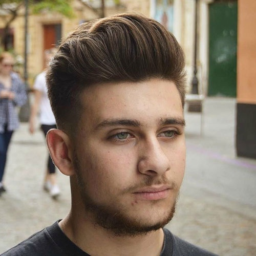 What Can Be The Best Hairstyle For The Round Face Guy Quora