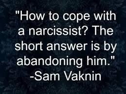 Trusting a narcissist
