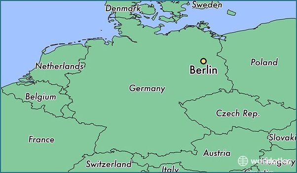Capital Of Germany Map.What Is The Capital Of Germany Quora