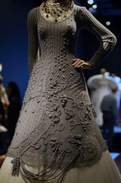 Wedding dress by Jean-Paul Gaulthier