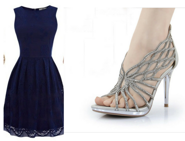 What color shoes do you wear with navy blue dress slacks for What color shoes with navy dress for wedding