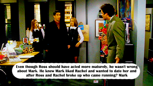 Dating for sex: when does ross and rachel start dating