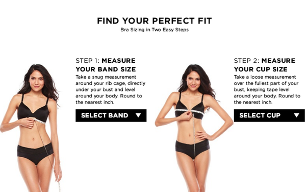How to choose the right bra size