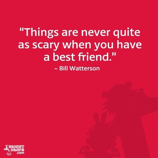 Bill Watterson On Best Friends And Scariness