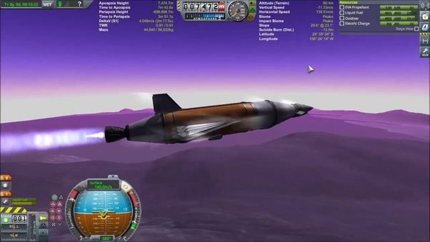 Is there any Kerbal rocket design efficient enough to cover almost