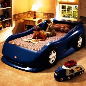 One Of The Best Features This Little Tikes Car Bed Is Its Ample Room