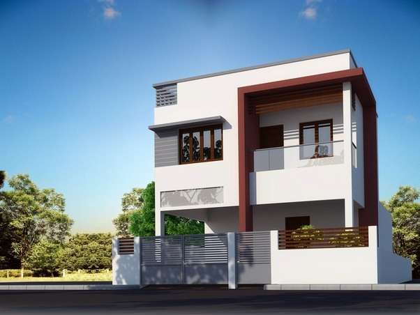 Elegant Basically Villas Are Independent Houses With Front Parking Space Provided  And Backyard With Compound Wall For Each Villa Separately.