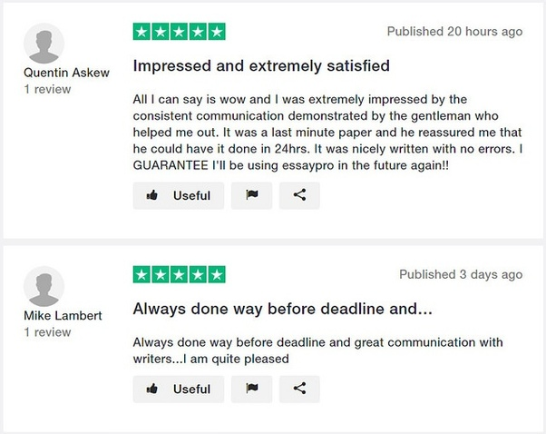is there a site that could check to see if my essay is good or not  to discover whether essay pro is a reliable company or not i went online  the essaypro has a good online rating reviews about them on sites like  trustpilot