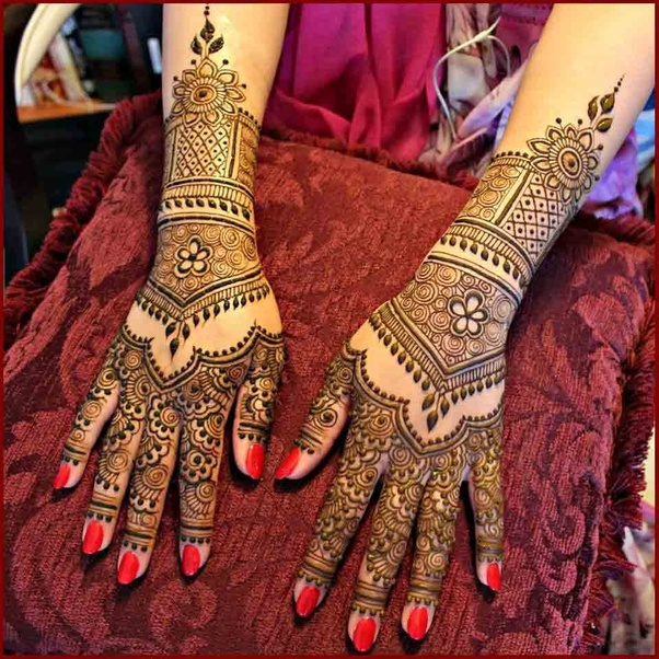 What Are The Latest Designs For Bridal Mehendi Quora