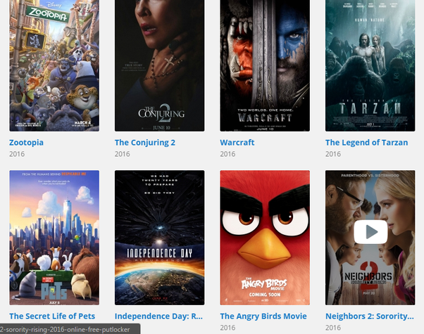 what sites have free movies like movietube