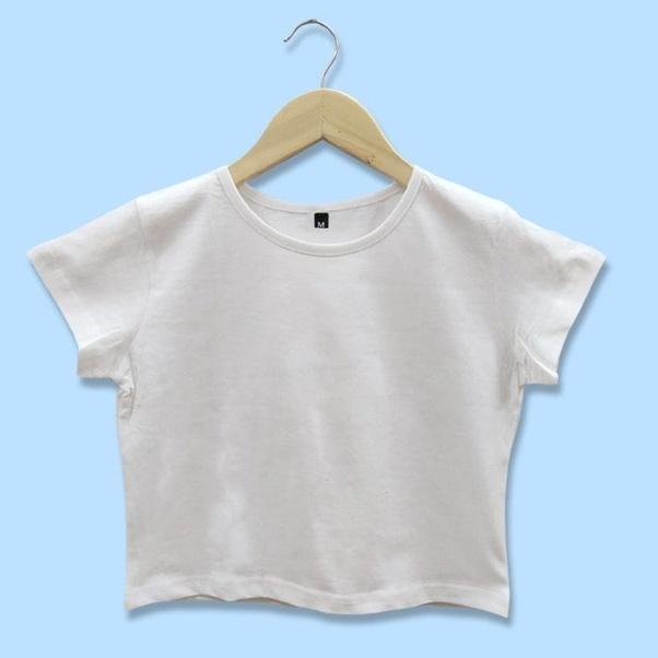 628338676c Moreover, simple plain crop tops are the best crop top to get your variety  of look. If you are willing to get any top with best print then Beyoung  assures ...
