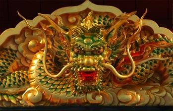 Znalezione obrazy dla zapytania buddhist dragons