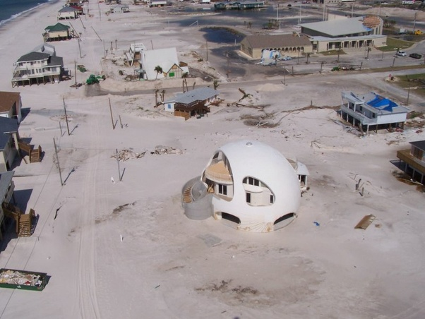 After A Hurricane Passed, It Was The ONLY Structure In Its Neighborhood  That Did Not Suffer From Any Substantial Damage!