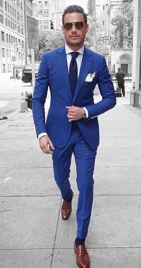 What Colour Shoes With A Blue Suit Quora