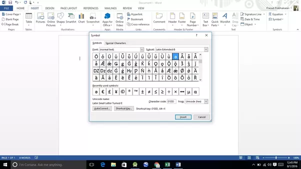 How To Type A Schwa In Word Quora