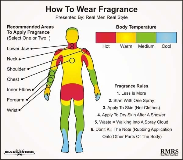 Which Part Of The Body Is The Best To Spray Perfumefragrance How