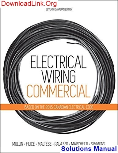 Awesome Where Can I Find A Solutions Manual For Electrical Wiring Commercial Wiring 101 Vihapipaaccommodationcom