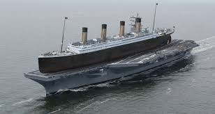 How Big Was The Titanic Compared To An Aircraft Carrier Quora