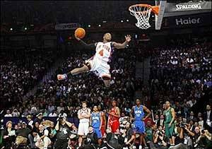Shorter NBA Players Such As Nate Robinson And Spud Webb Have Proved That Vertically Challenged Athletes Are Still Capable Of Flying High Above The Rim