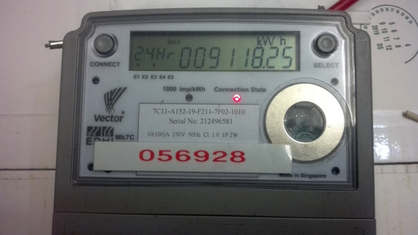 Do new digital electric meters at home run faster than the