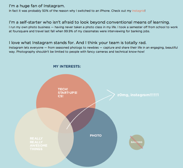 What are the best venn diagrams quora this one from alice lees recent websitelove letterjob application to instagram ccuart Image collections