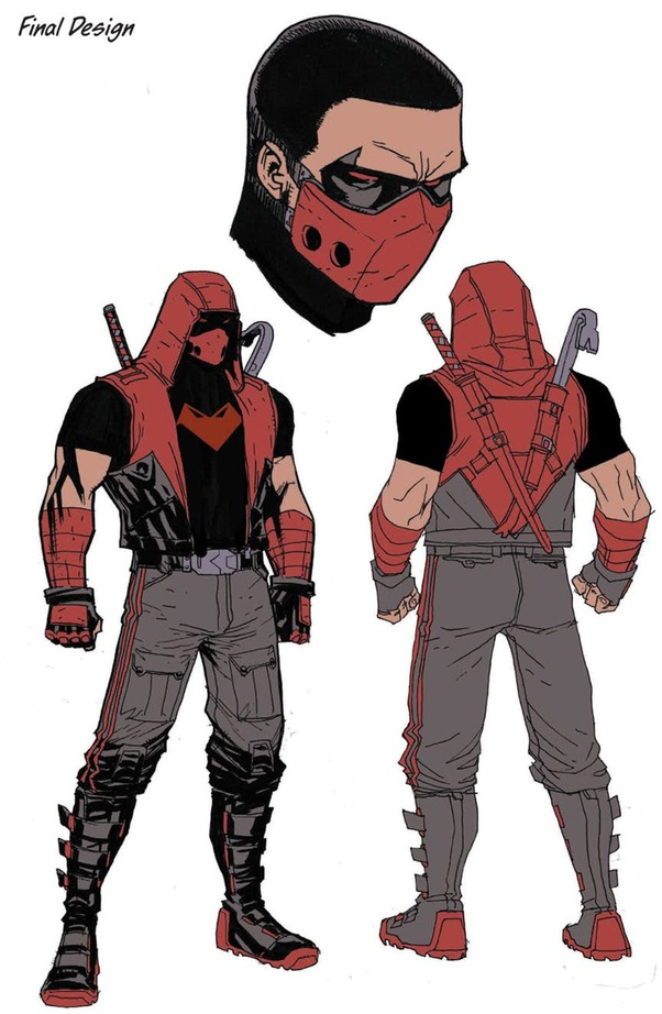 Which Superheroes Have Black And Red Costumes Quora