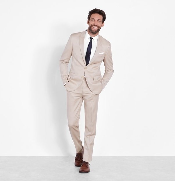 Is a tan suit appropriate for a wedding? - Quora