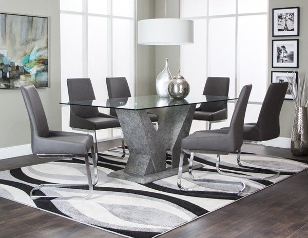 Furniture: Need to buy a six seater glass top dining set. Any ...