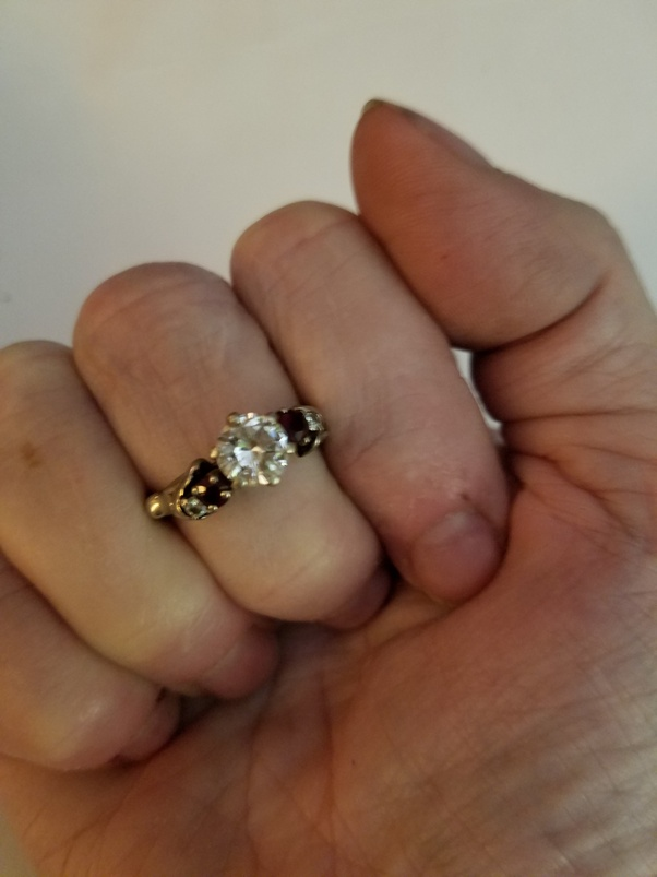 What is moissanite and, as a gemstone, will it hold any
