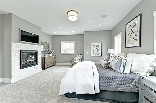 What color walls look good with grey carpet? - Quora