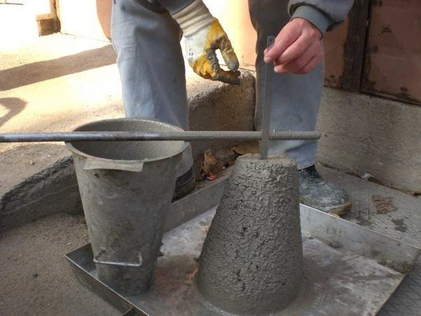 What Is The Procedure To Perform Concrete Slump Test In