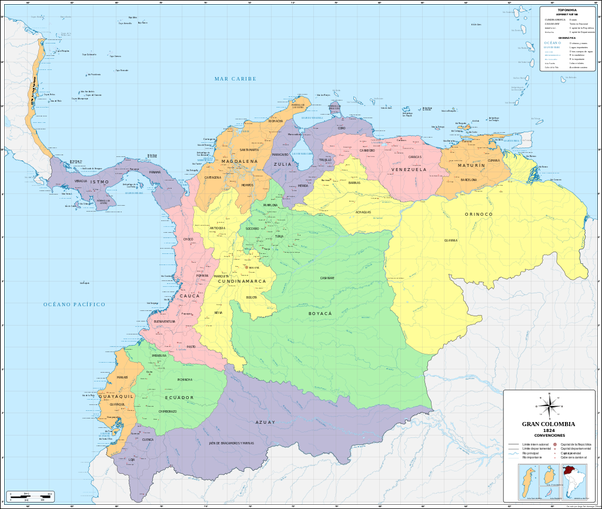What If Gran Colombia Had Become Federalist?