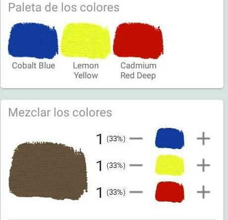 Qu color se obtiene de la mezcla de azul amarillo y for Amarillo y rojo que color da