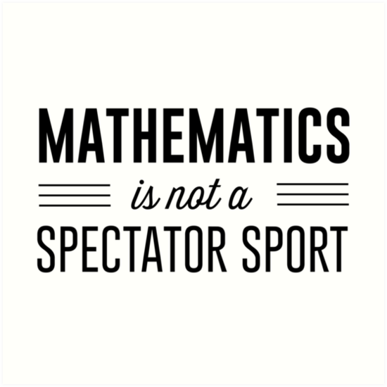 Can I learn math just by watching? - Quora