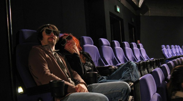 What Do The Couples Do Sitting In The Corner Seats Of A Movie Theater Quora