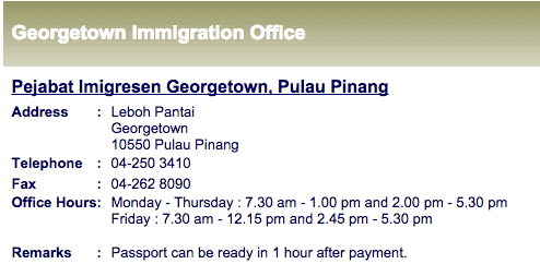 Whats The Process For Renewing Your Malaysian Passport In Penang
