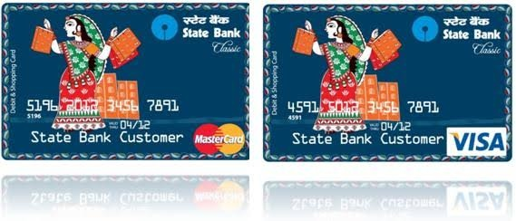 how do we find the cvv number and expiry date of an sbi