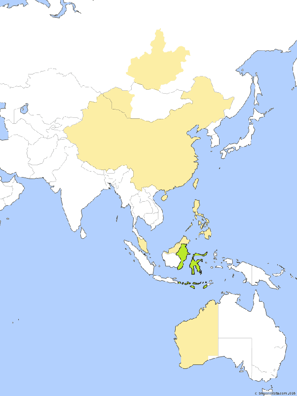 Where exactly is the center of indonesia latitude longitude wise balikpapan in east kalimantan and makassar in south sulawesi indonesia ujung pandang are both in time zone wita utc8 gumiabroncs Images