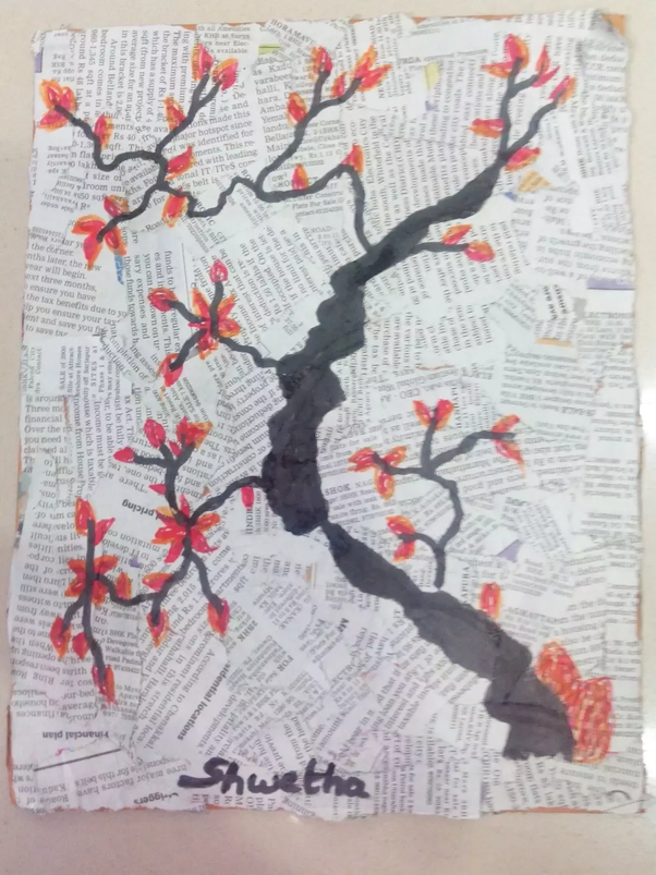What Craft Art Can I Make From Old Newspapers At Home Quora