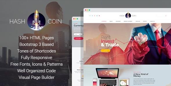 Hashcoin Plus Bitcoin Crypto Currency Html Te Popular